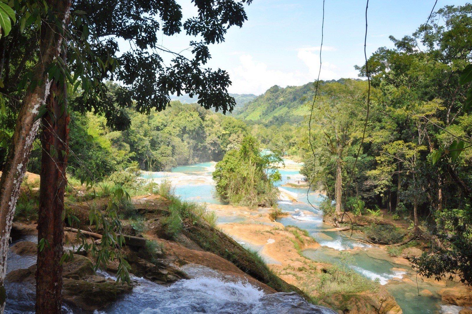 Agua Azul au Chiapas