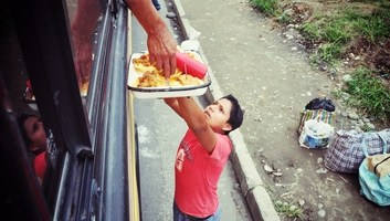 Sur la route en equateur