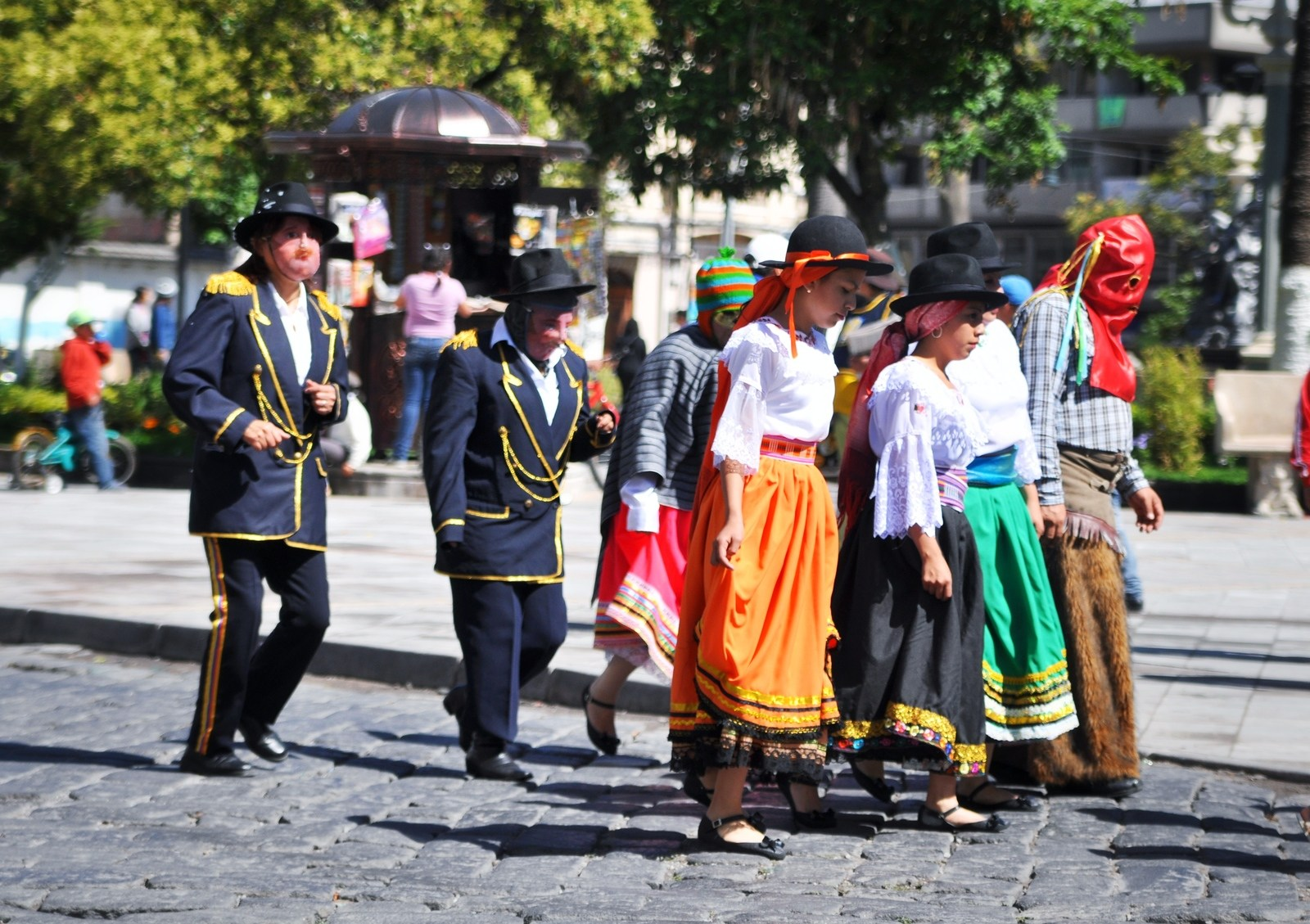 Vêtements folkloriques à Riobamba Riobamba