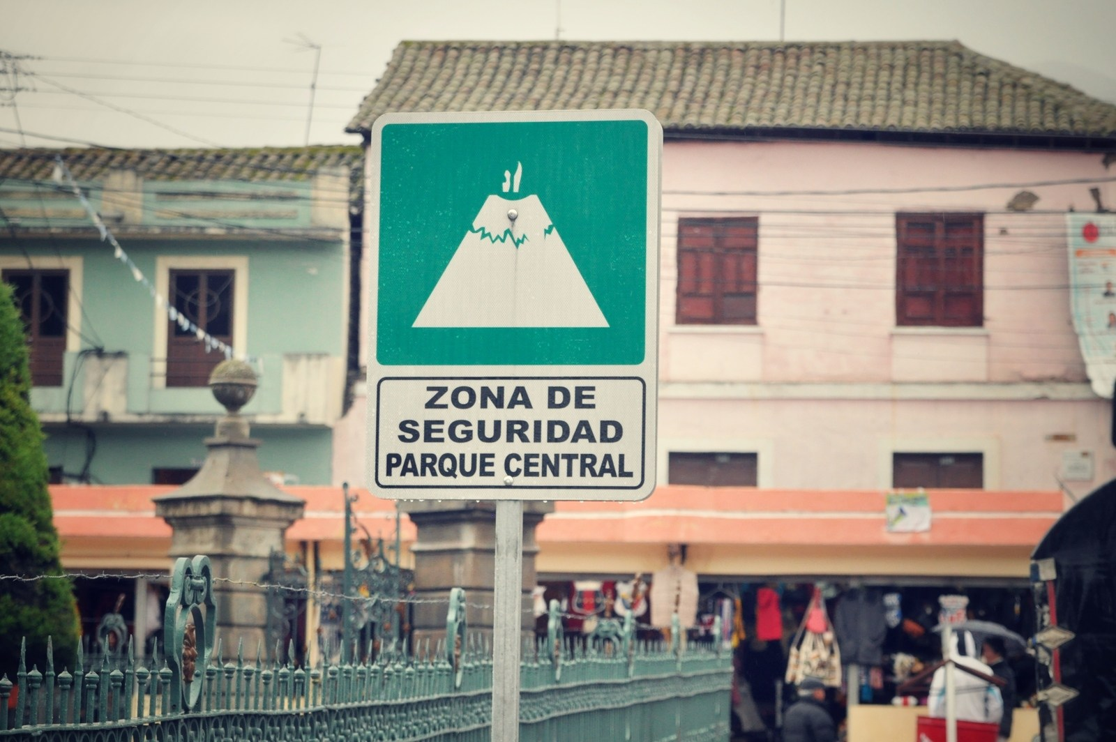 Zona de seguridad, Equateur Riobamba