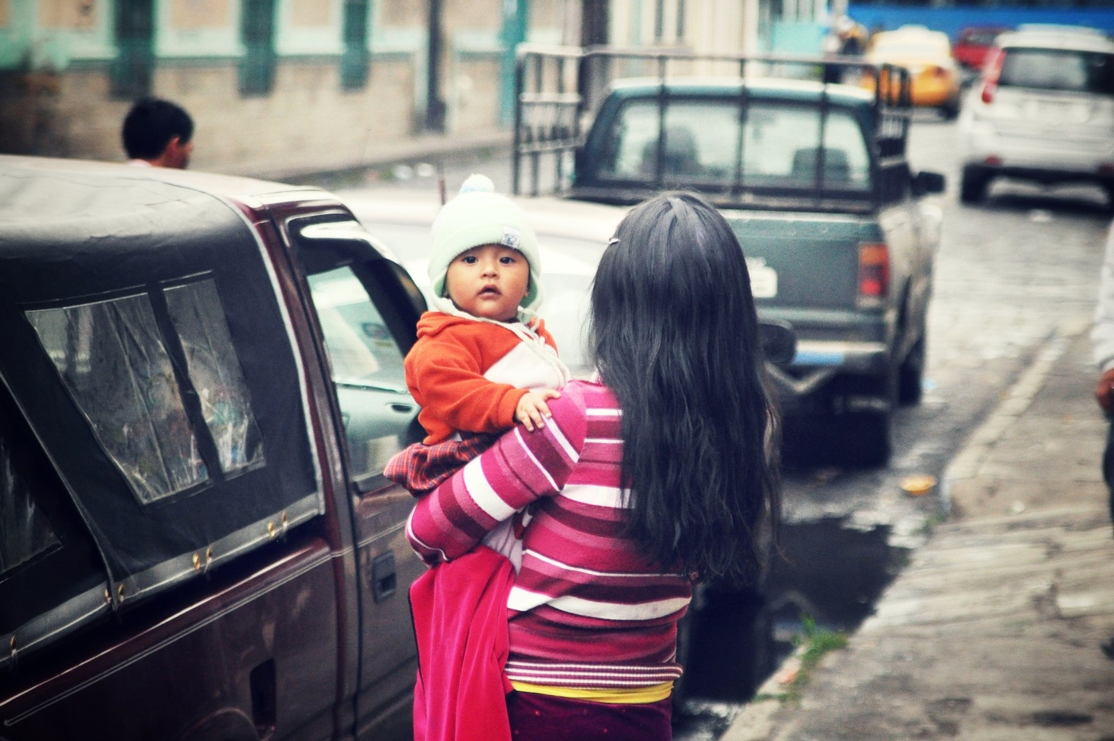 Bébé d'Equateur Riobamba