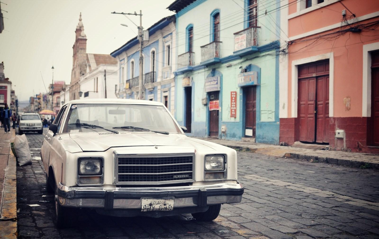Rue de Riobamba, Equateur Riobamba