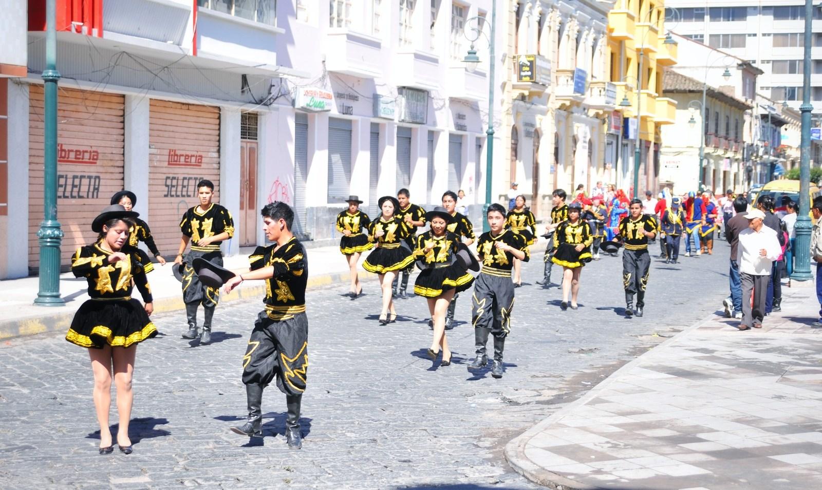 Carnaval de riobamba, Equateur Riobamba