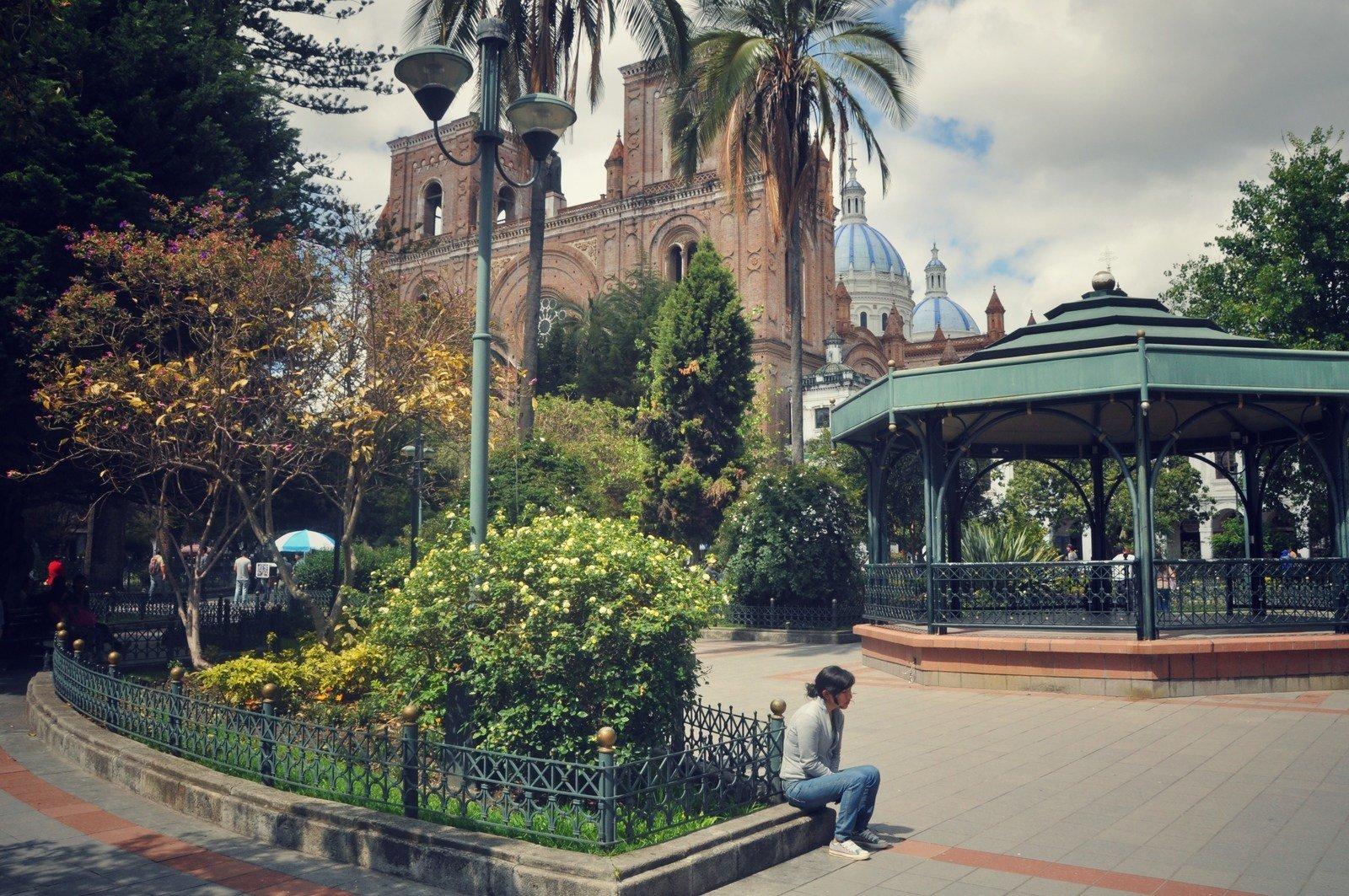 Plaza San Francisco, Cuenca Cuenca
