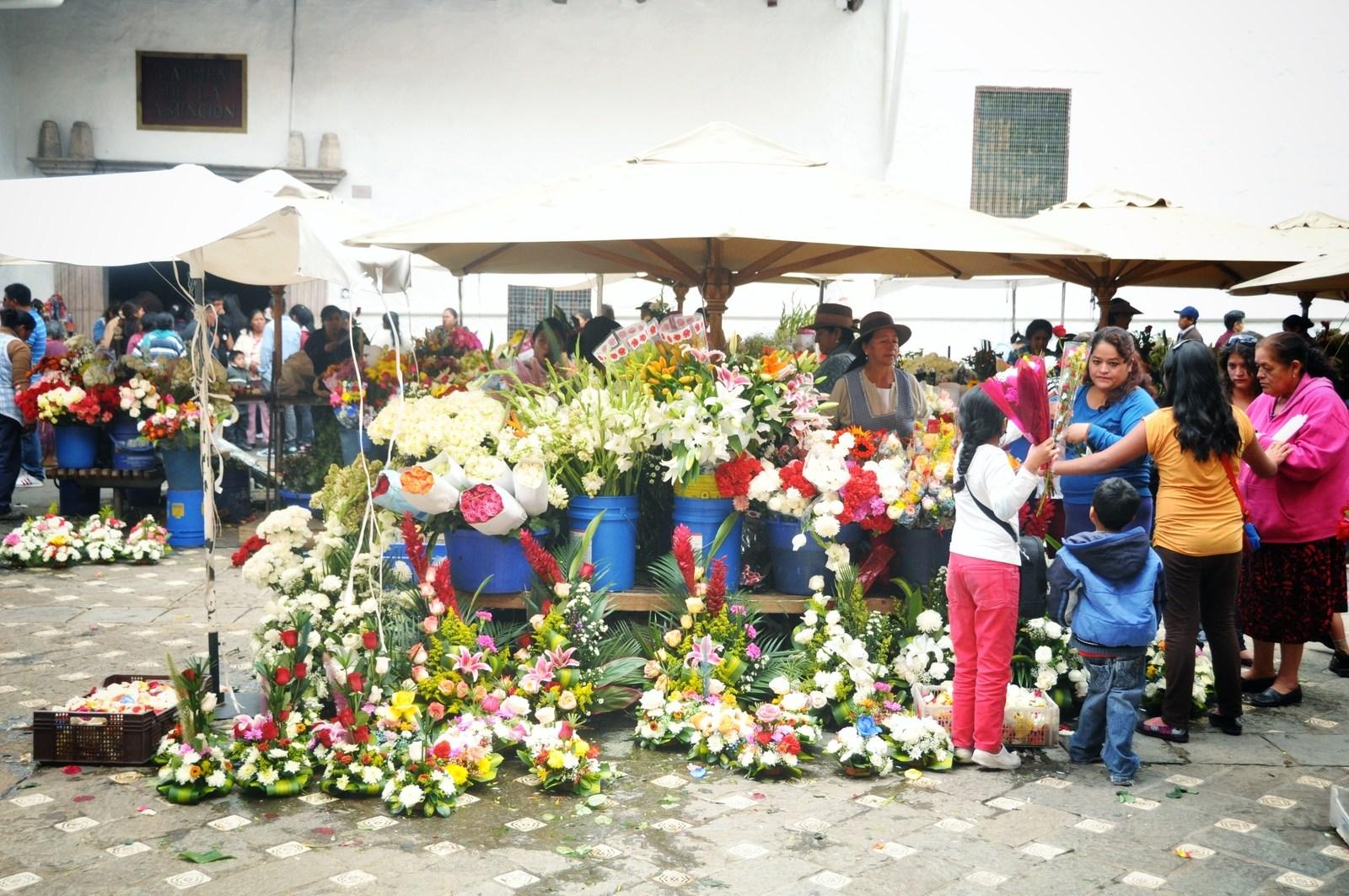 Marché aux fleurs de Cuenca Cuenca