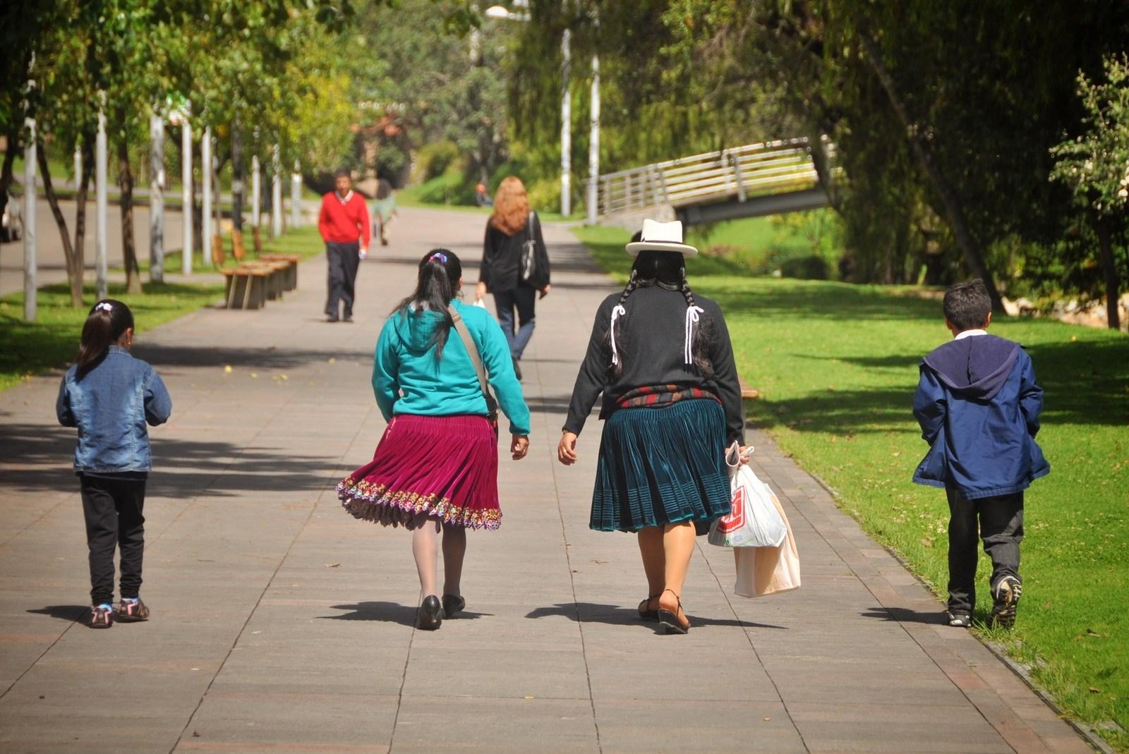 Famille équatorienne, Cuenca Cuenca