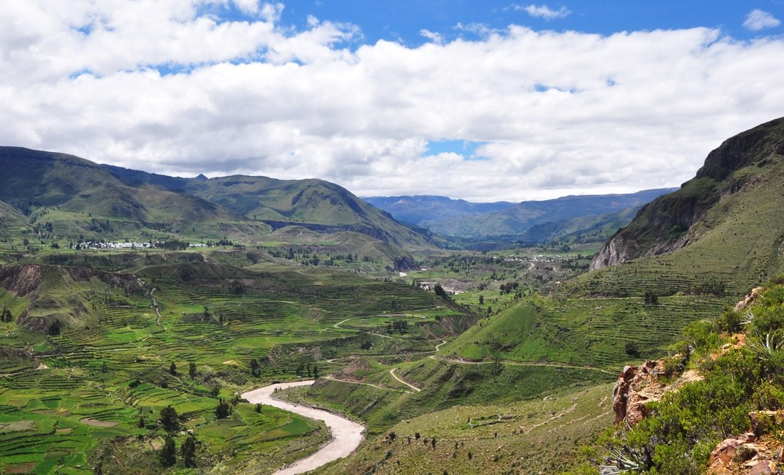 Panorama, Colca Canyon