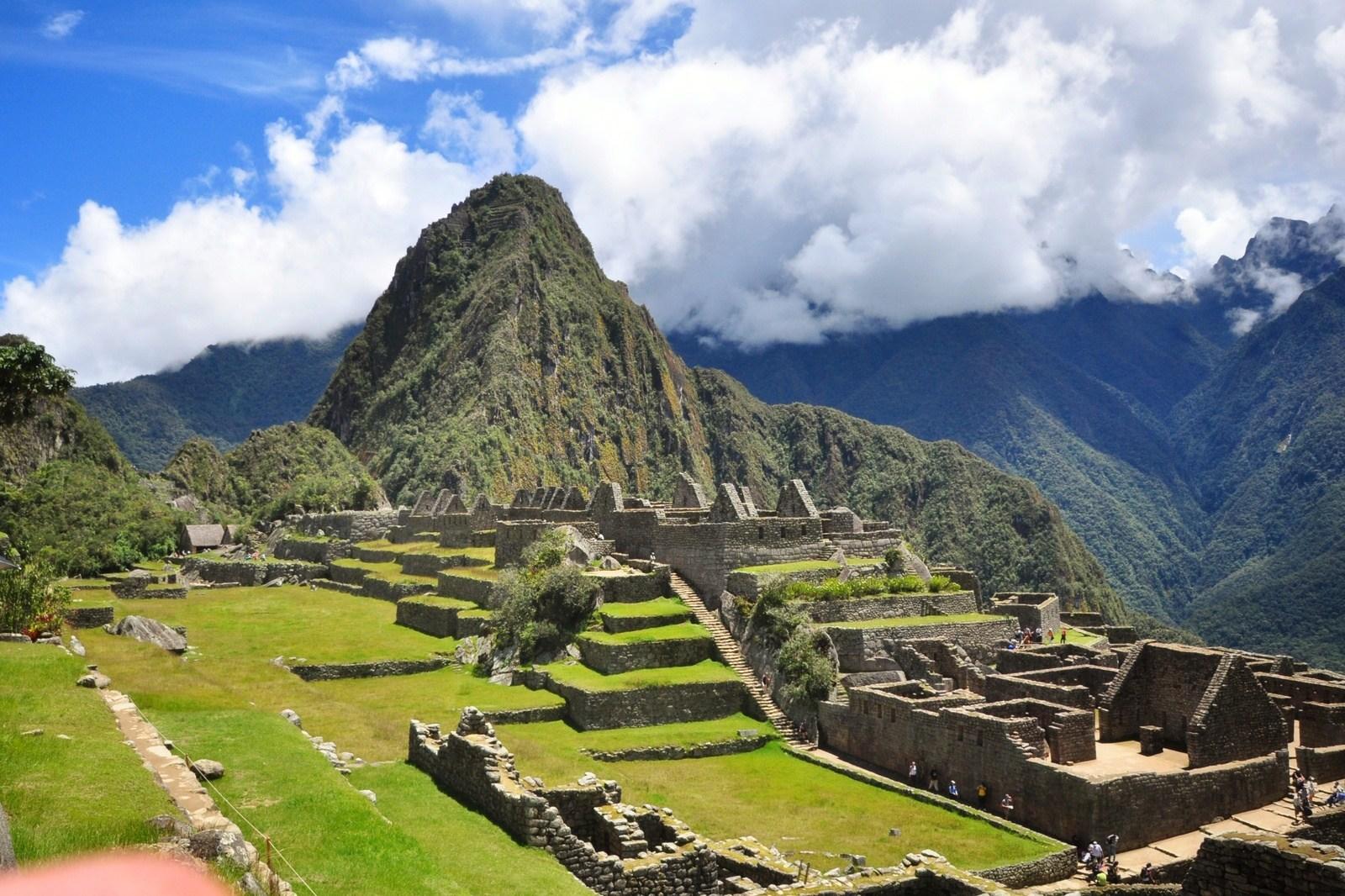 Panorama du Machu Picchu Machu Picchu