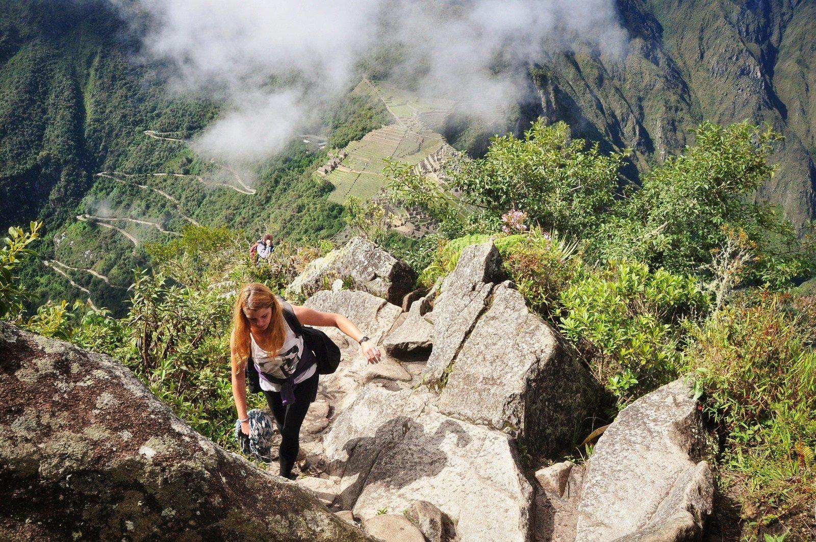 Monter en haut du Wayna Picchu Huayna Picchu