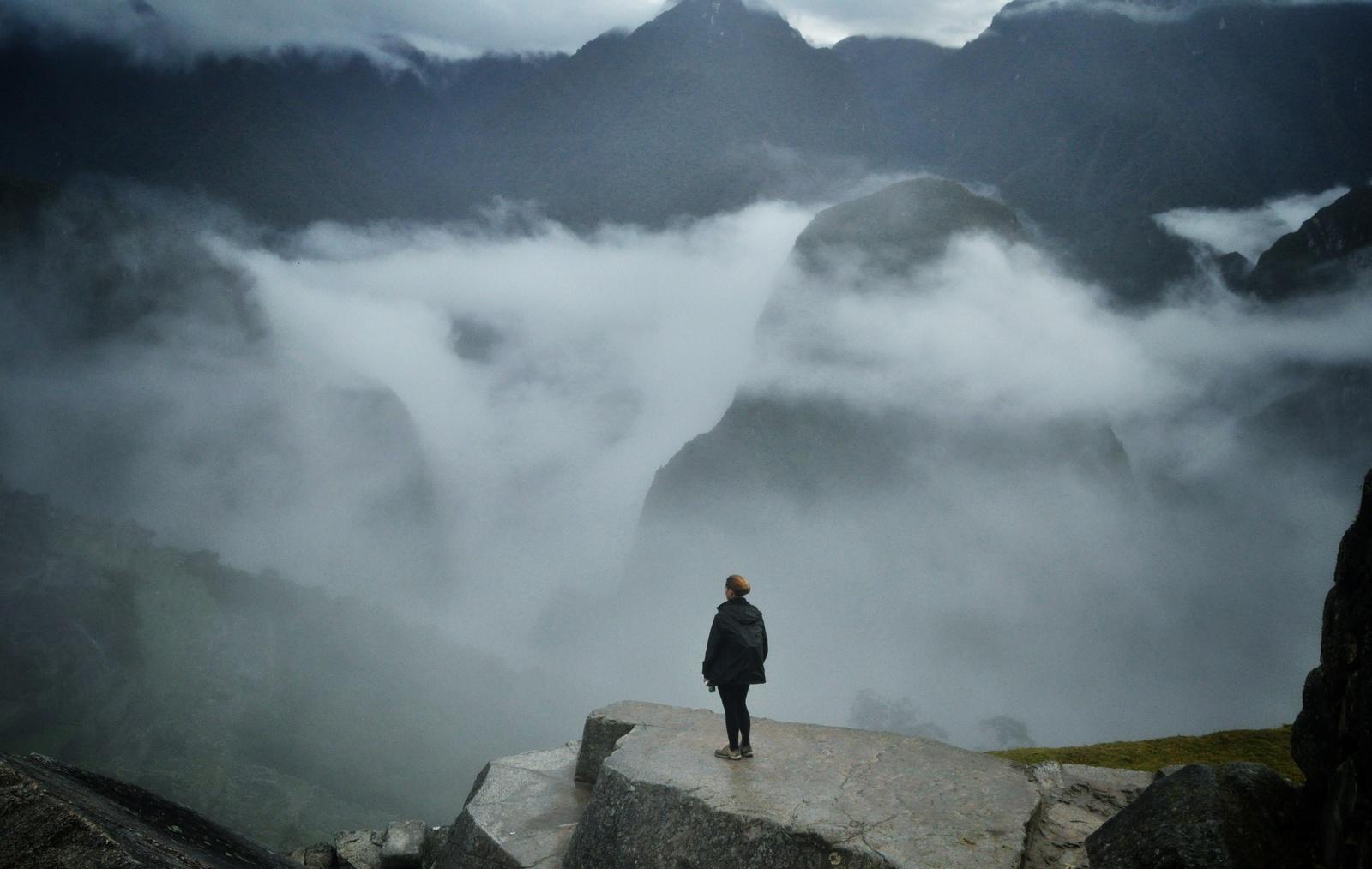 Au dessus des nuages, Machu Picchu Machu Picchu
