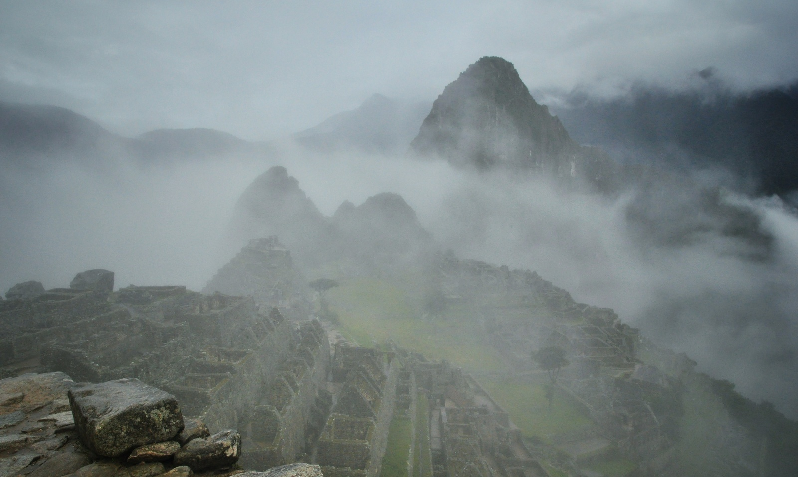 Arrivée au Machu Picchu Machu Picchu