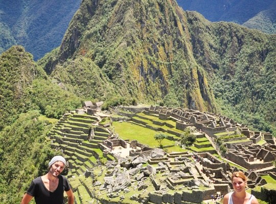 On the Machu Picchu