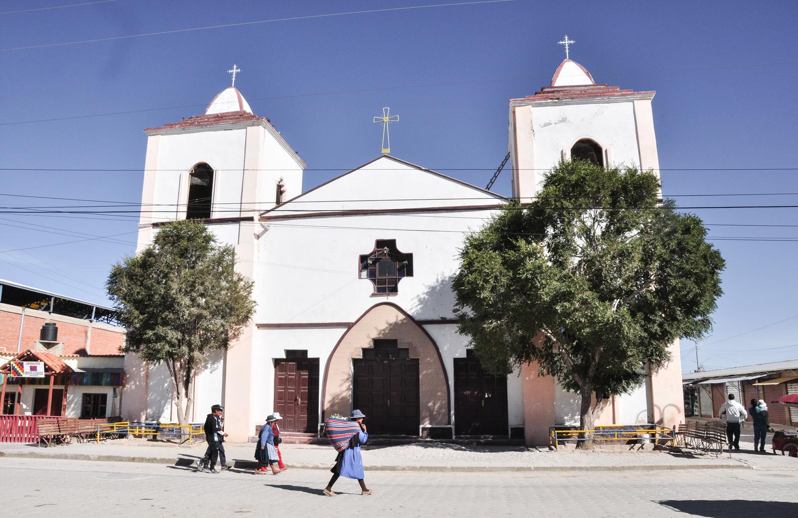 Eglise d'uyuni Salar d'Uyuni