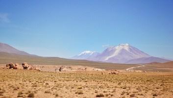 Panorama desert d uyuni