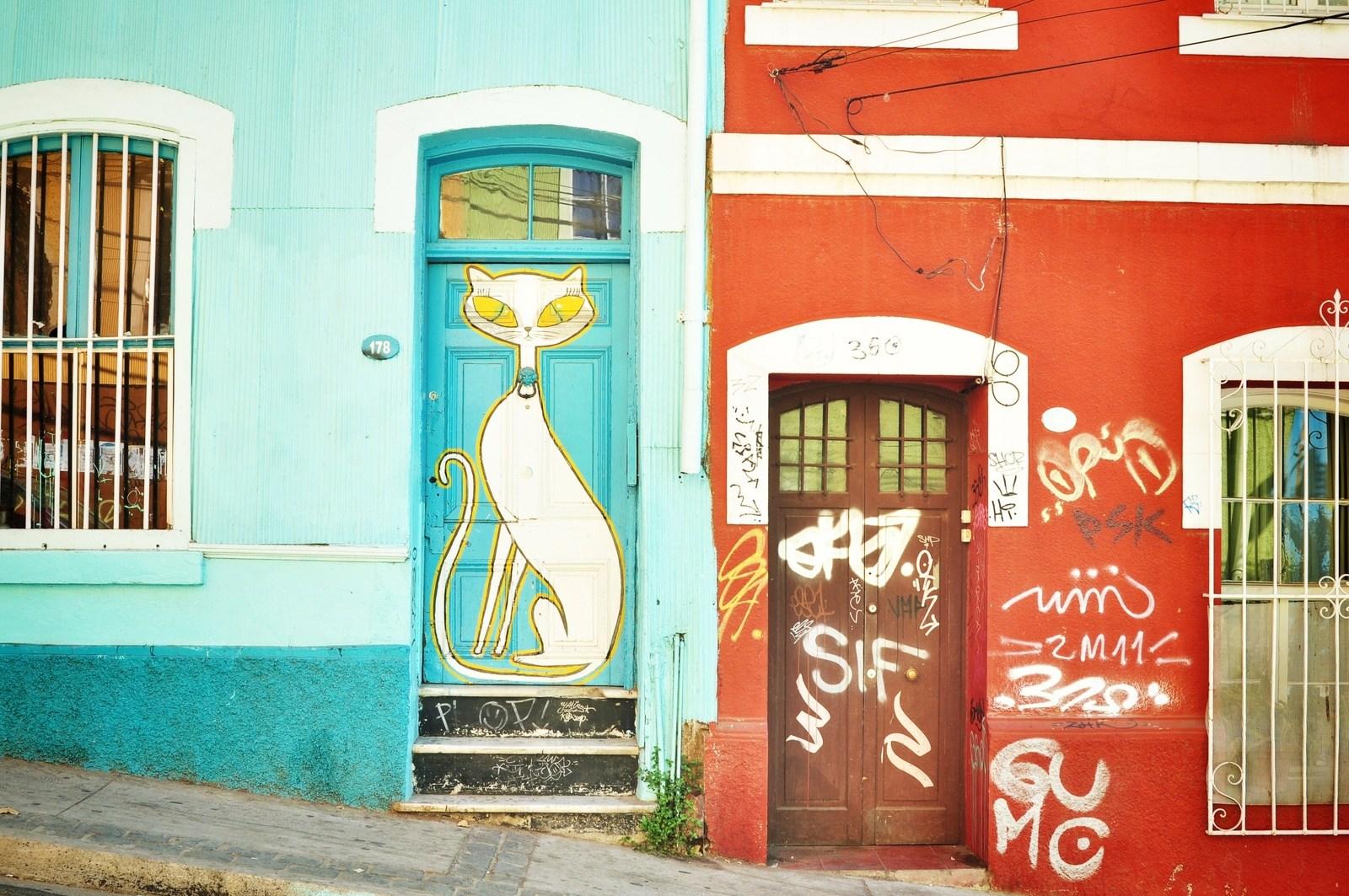 Valparaiso street art Valparaiso