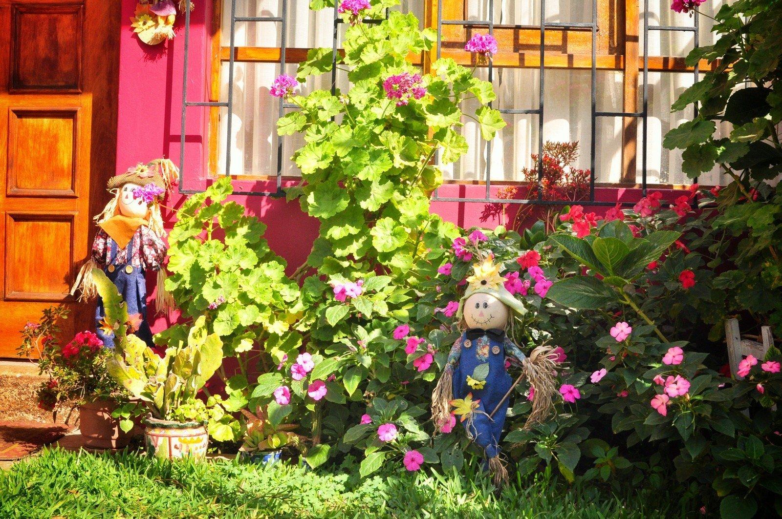 Joli jardin à Valparaiso Valparaiso