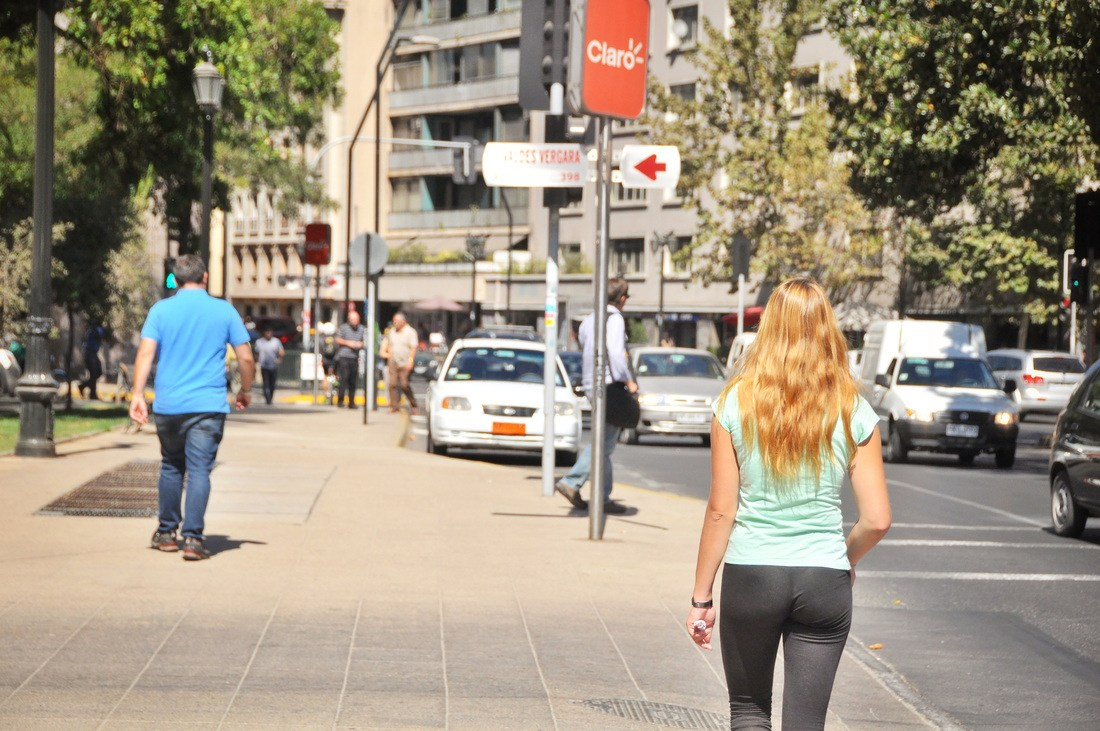 Walking Santiago