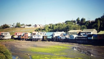 Palafitos maisons sur pilotis chiloe