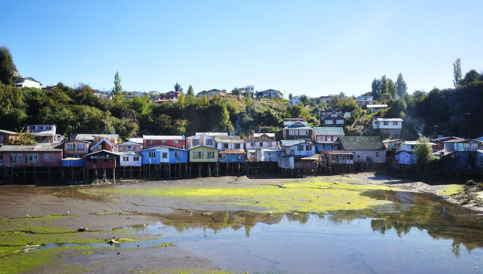 Palafitos de l'ile de Chiloe Castro