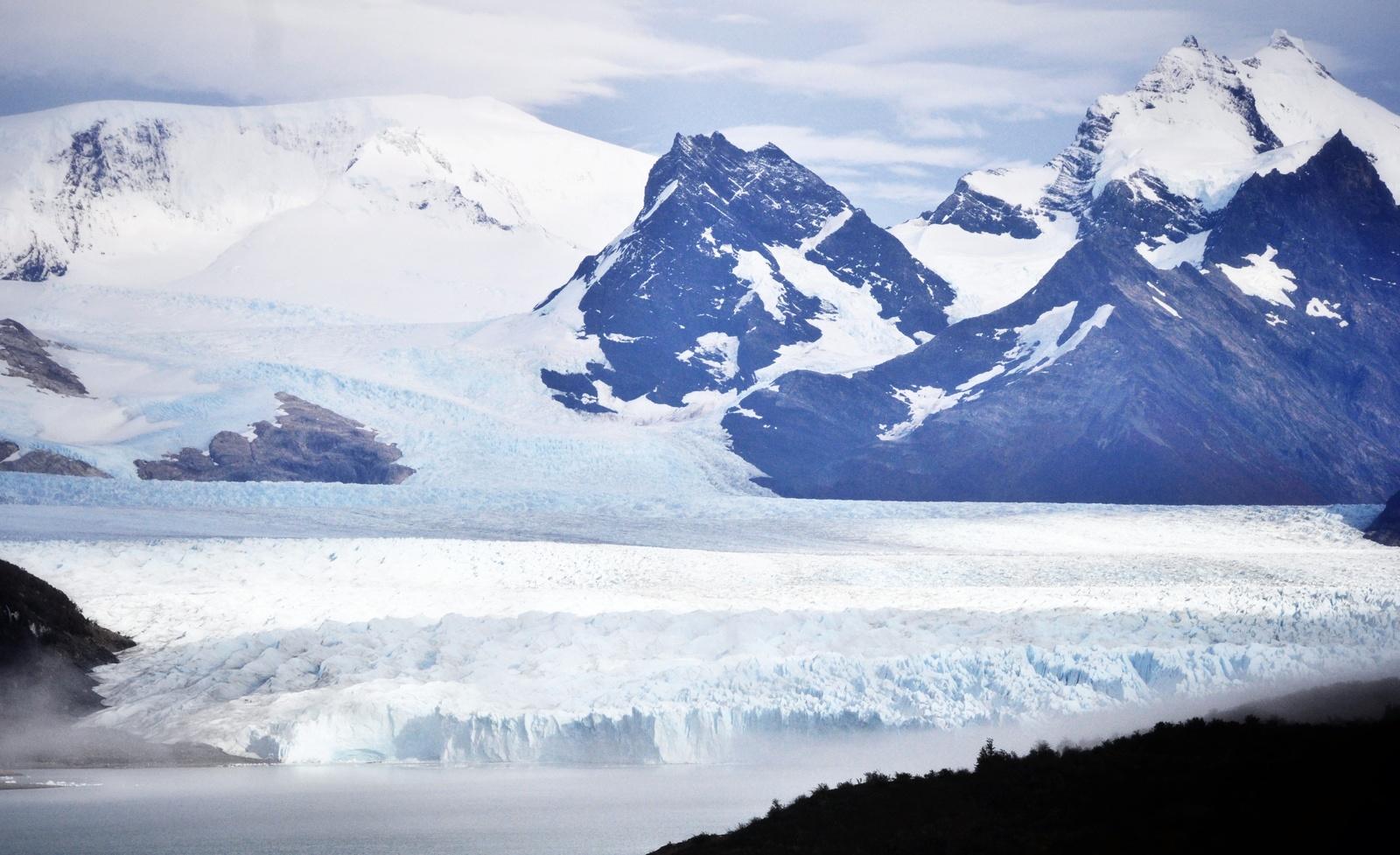 Arrivée a Perito Moreno Perito Moreno
