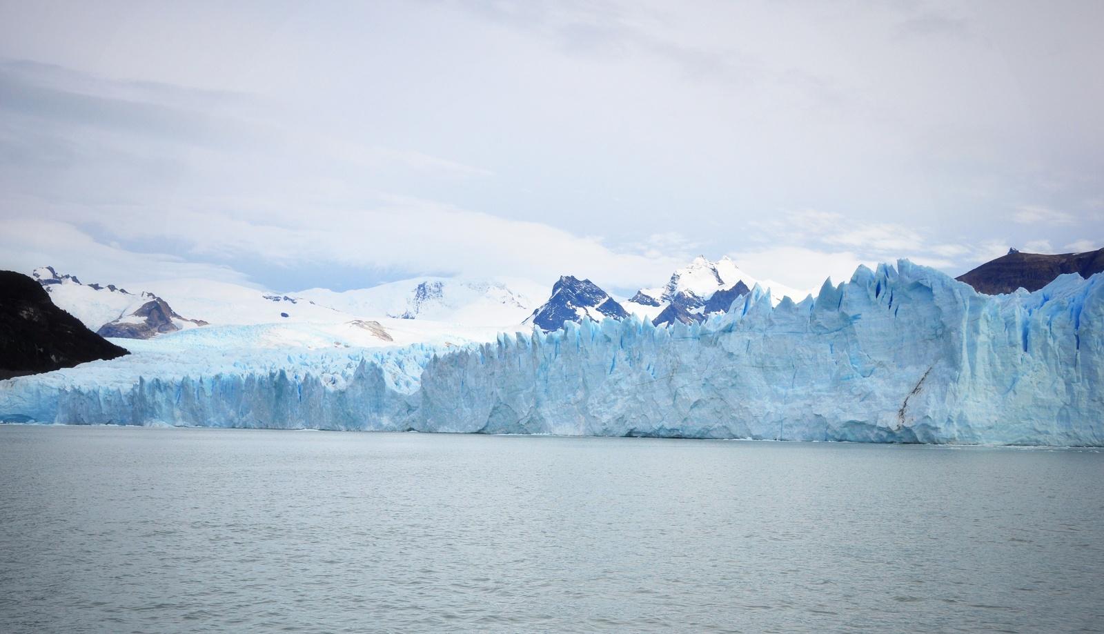 Glacier Perito Moreno vu du bateau Perito Moreno