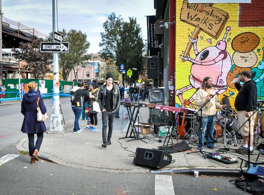 Live music, marathon de New York