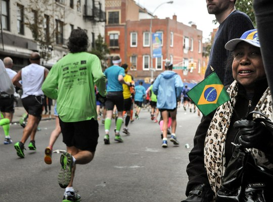 Supporter du marathon de New York