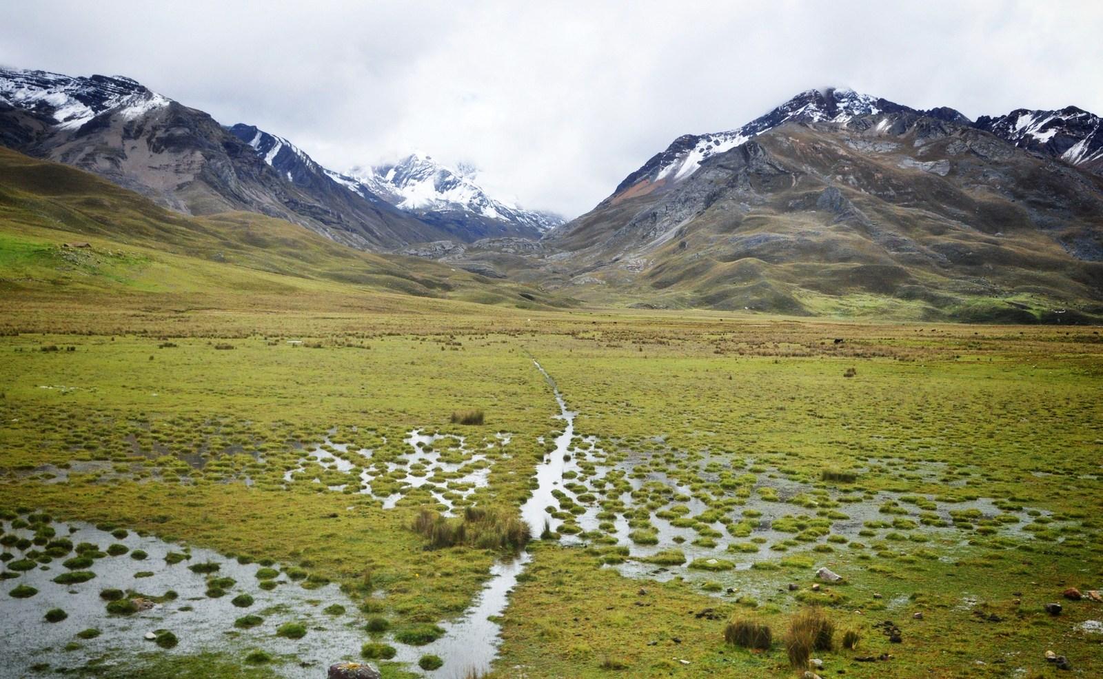 Cordillere blanche, Perou Huascarán