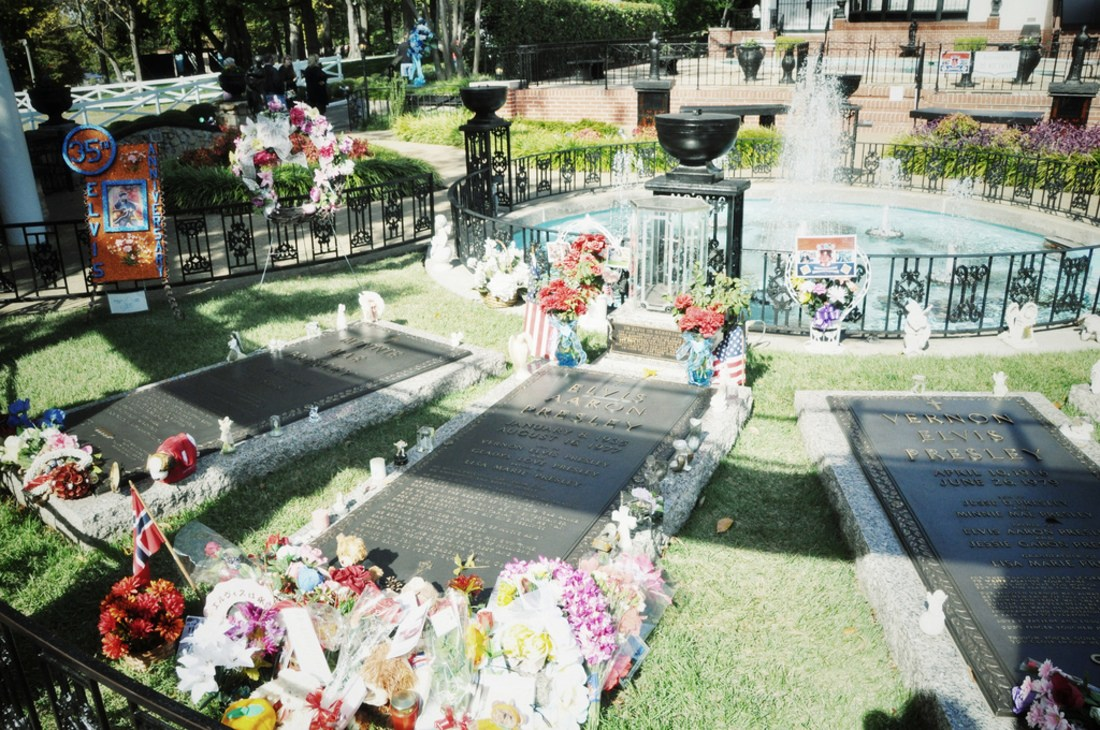 Tombe d'Elvis, Graceland