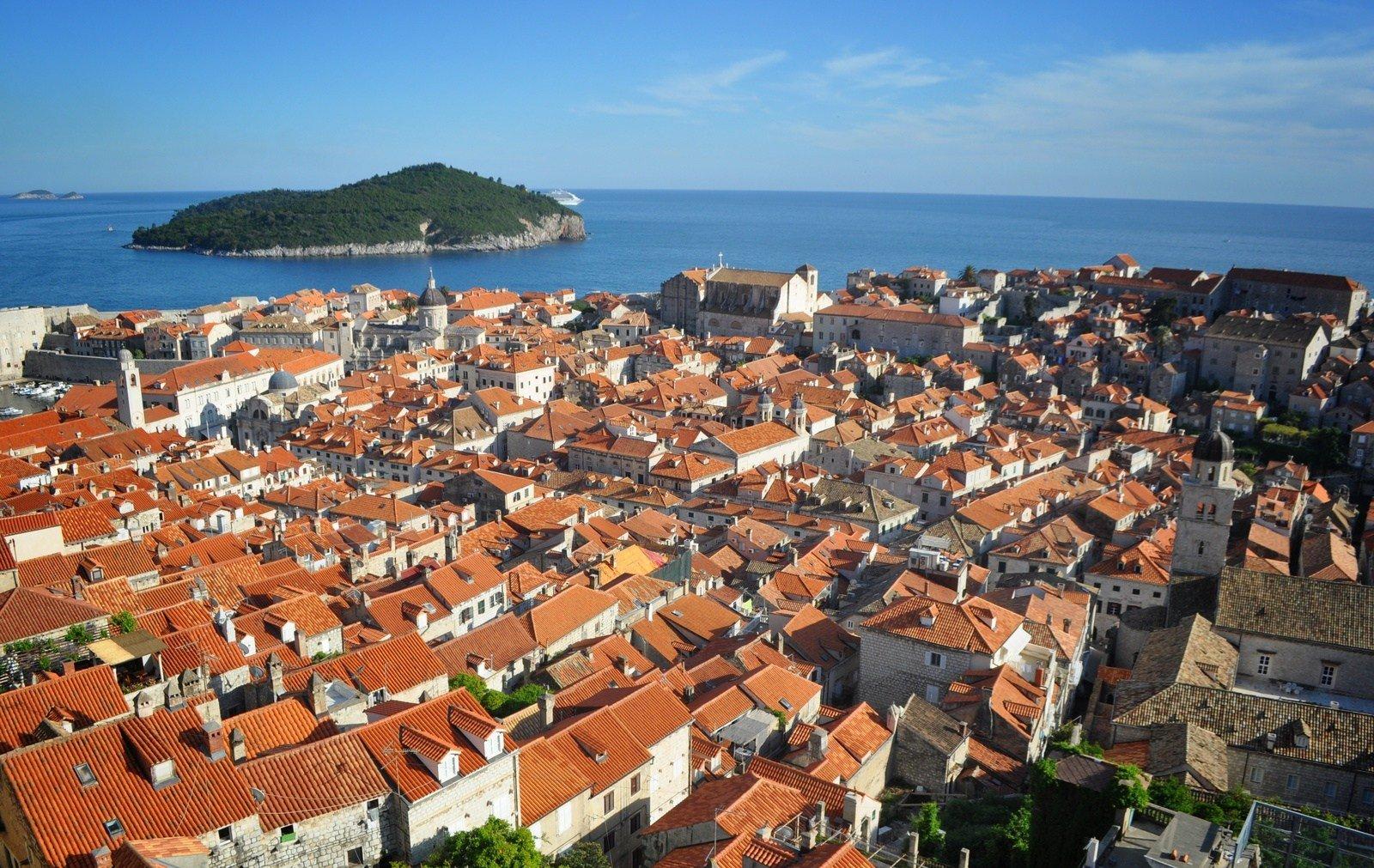 Panorama de Dubrovnik Dubrovnik