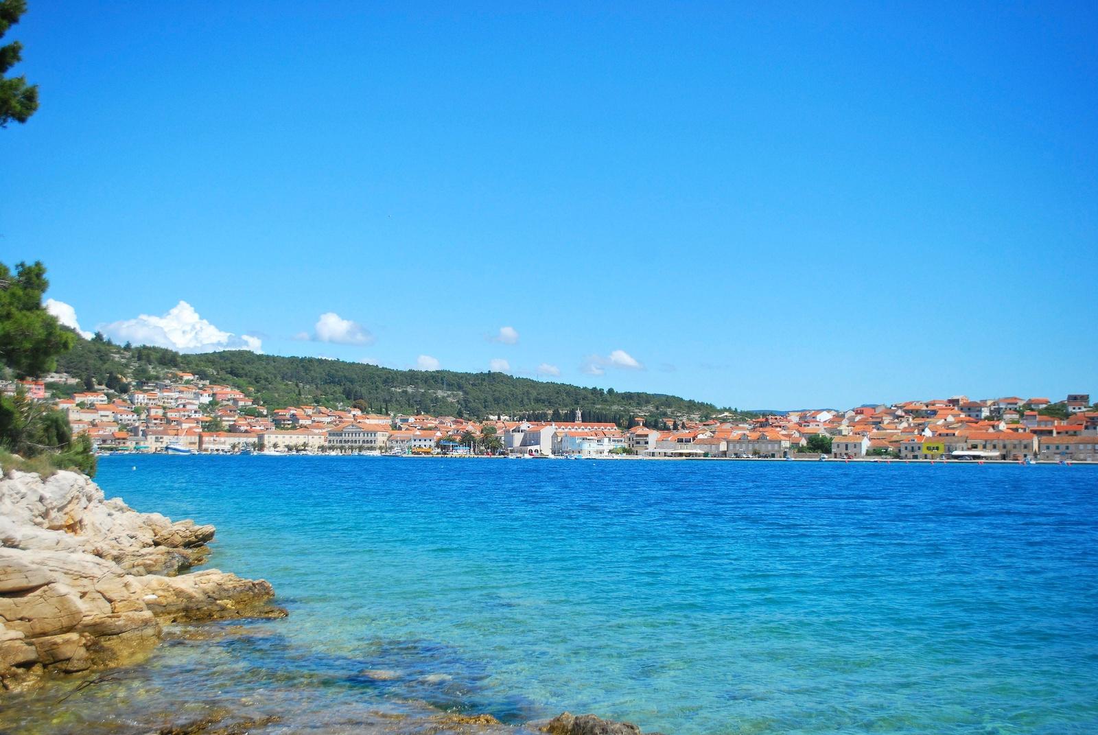 Crique de Croatie Korčula