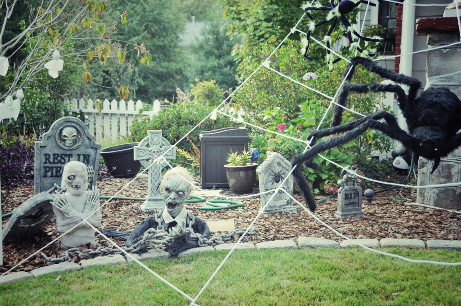 Jardin d cor pour halloween etats unis houston aux for Decoration de jardin pour halloween