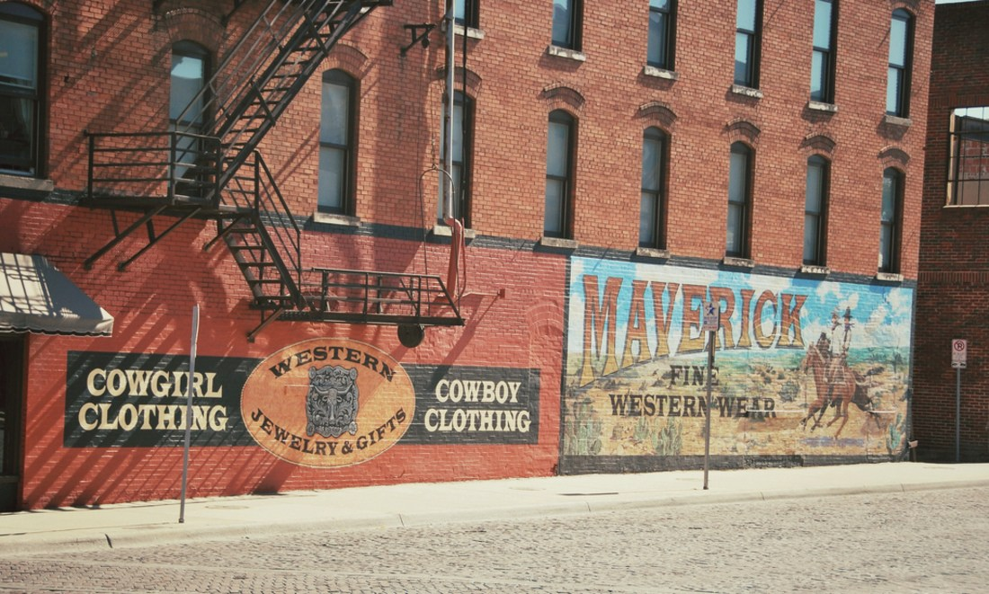 Maverick, rues de Fort Worth