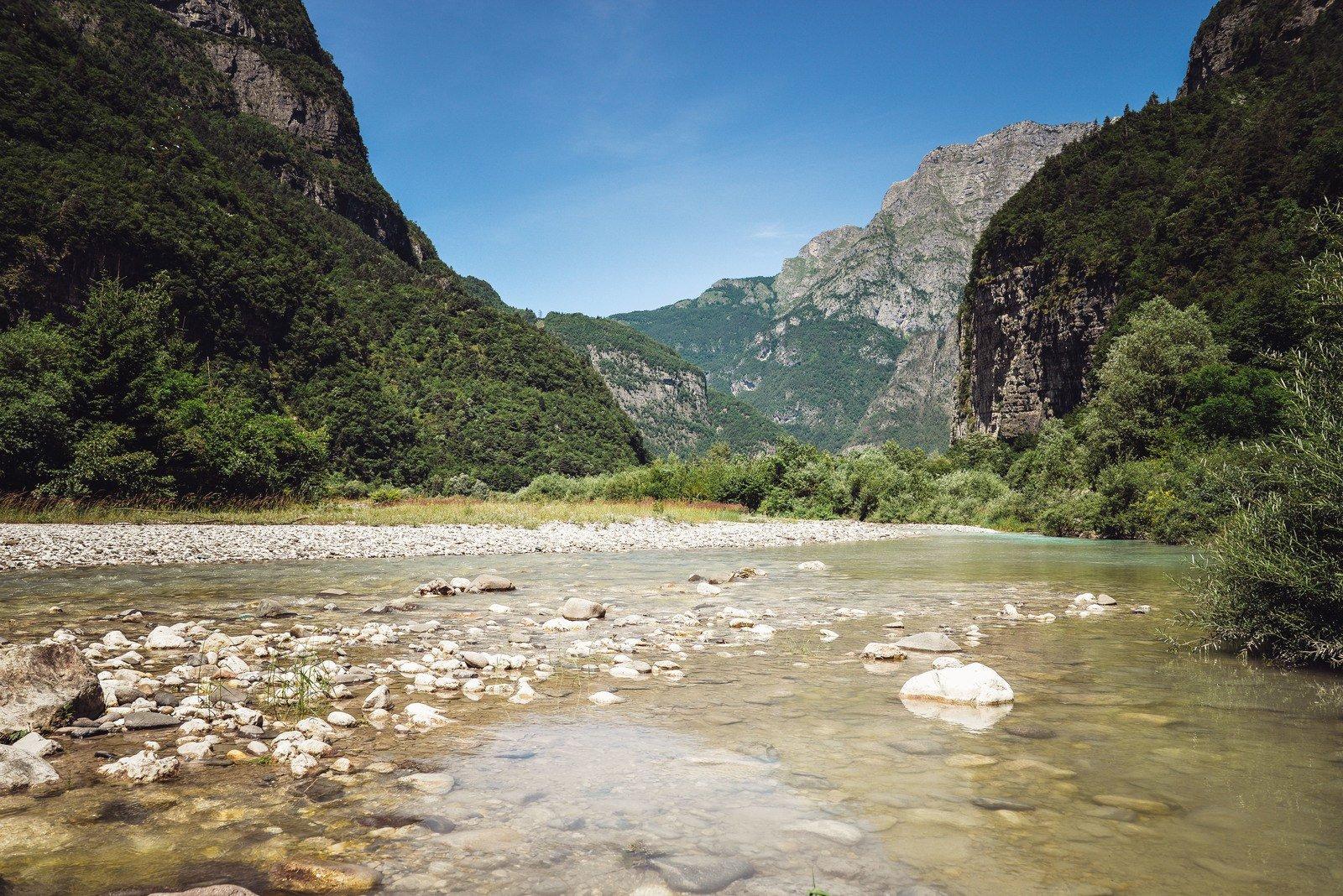 Cours d'eau Dolomites