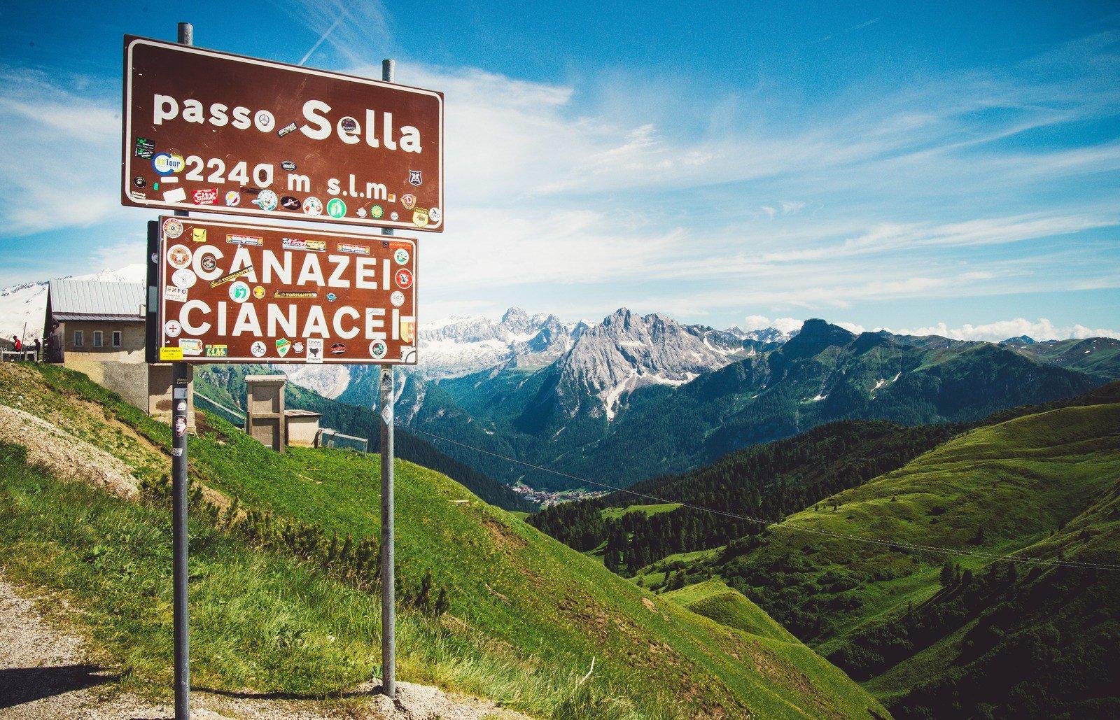 Passo Sella, Canzei Dolomites