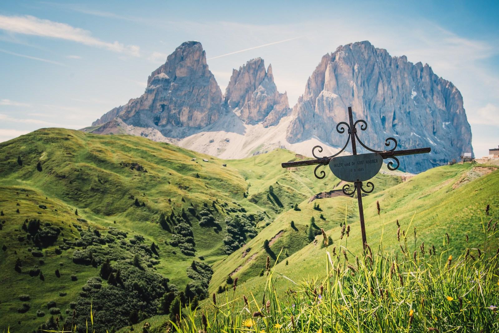 Tombes dans les Dolomites Dolomites