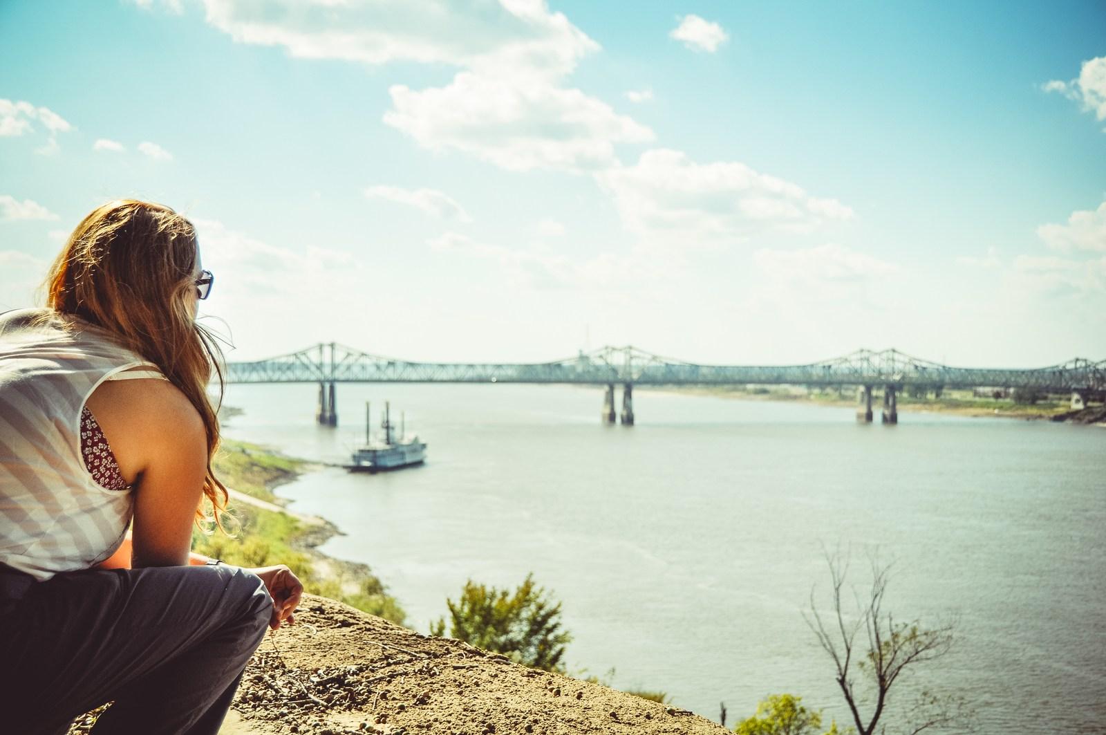 Voir le Mississippi, USA Vicksburg