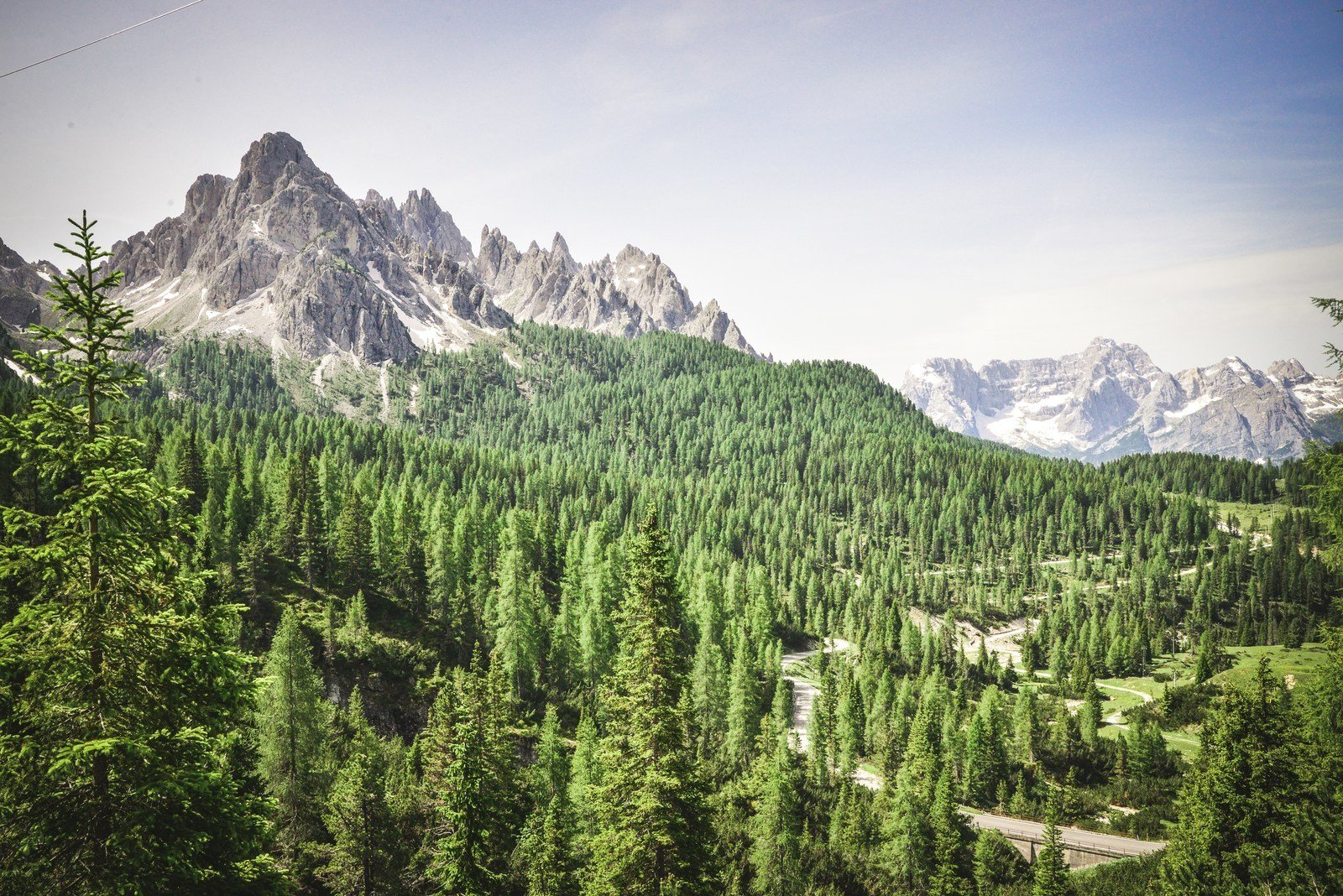 En route pour le refuse Auronzo Parco naturale Tre Cime