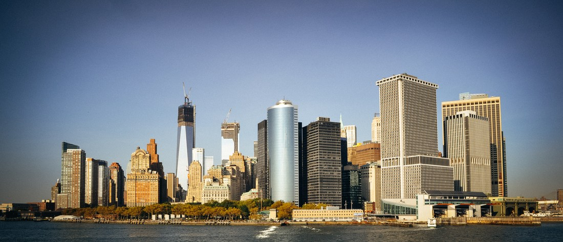 La New York skyline et la freedom tower