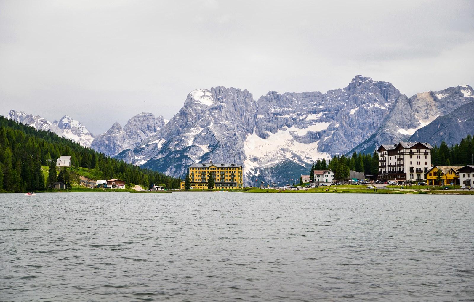 Lac de Misurina Parco naturale Tre Cime
