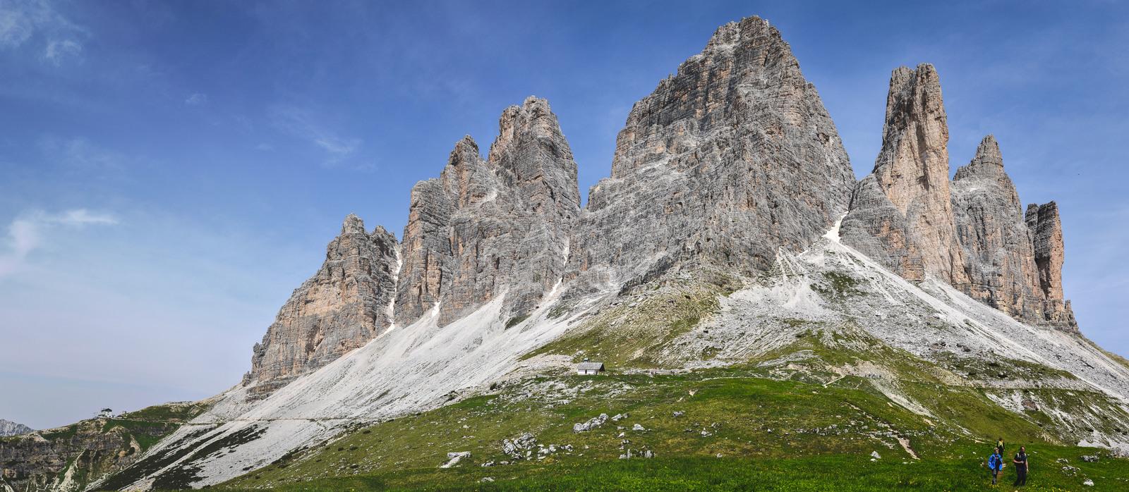 Tre cime di Lavadero face sud Parco naturale Tre Cime