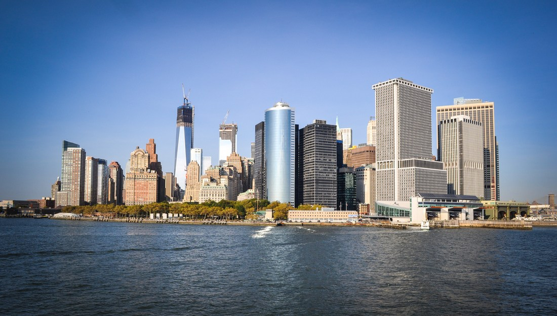New York Skyline et freedom tower
