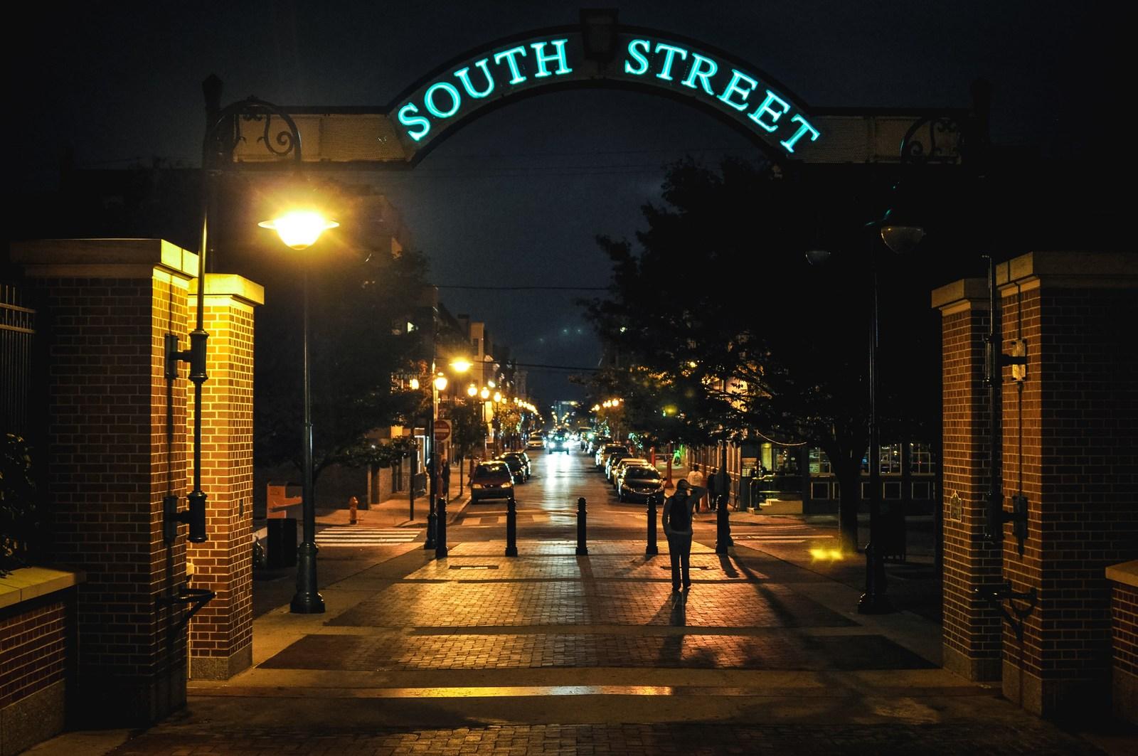 South Street à Philadelphie Philadelphie