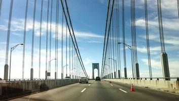 Route entre new york et philadelphie