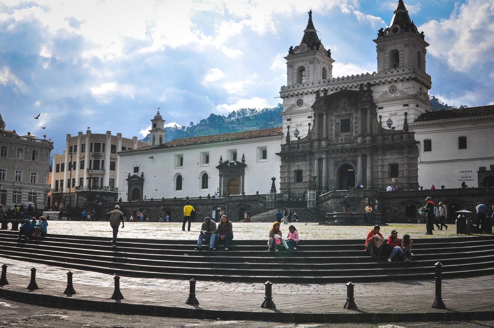 Église Saint-François, Quito Viejo Quito