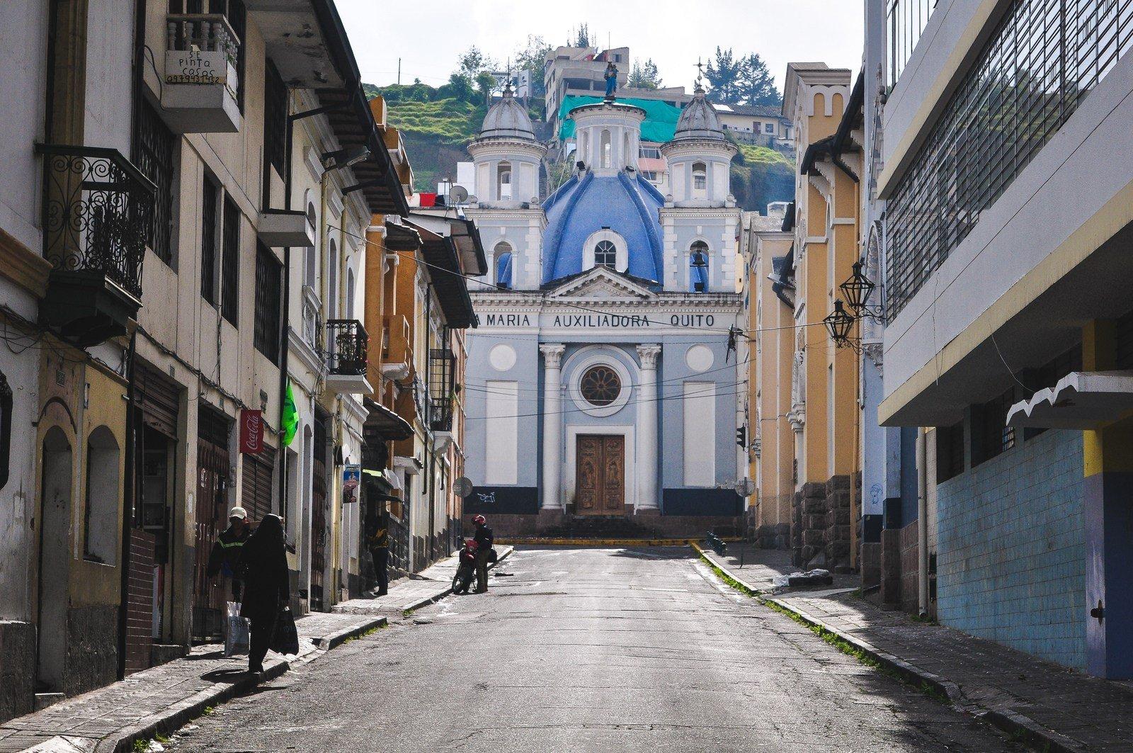 Temple Maria Auxiladoria Quito