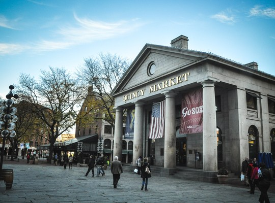 Quincy Market de Boston