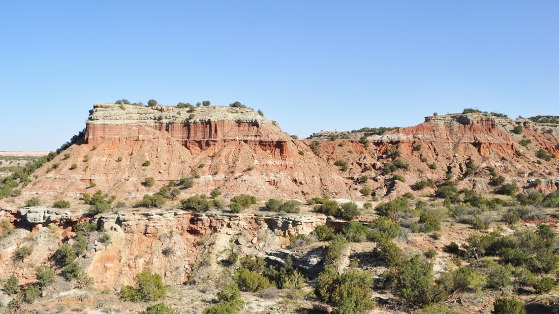 Palo Duro Canyon au Texas