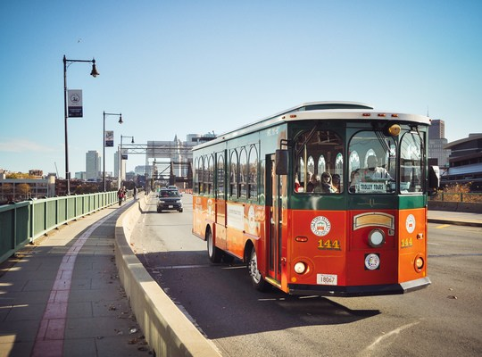 Trolley Tours Boston