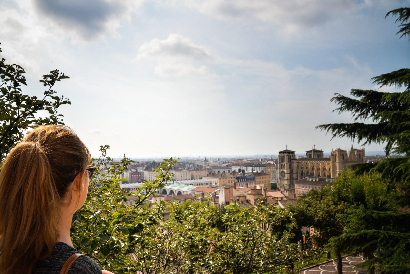 Panorama sur la cathédrale de Lyon